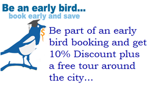 Be the Early Bird and save!